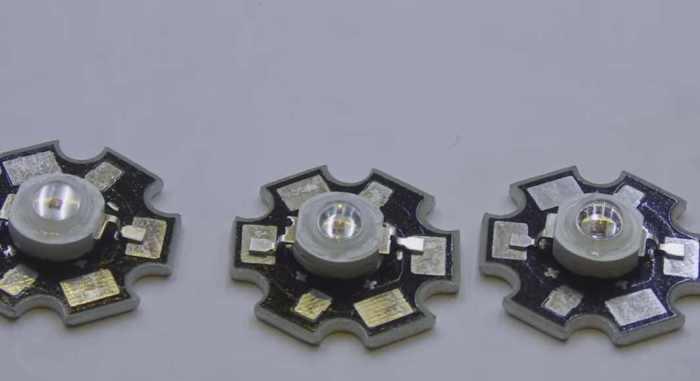 светодиоды на подложке