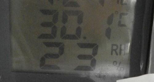 температура на окне днем